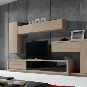 mueble moderno salón comedor ONA baixmoduls salamaca Ahicor descanso