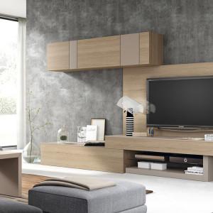 Mueble salón Salamanca Mesegue Netro 06